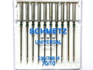 Universal   Schmetz Nähmaschine Nadeln Flachkolben