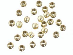 Quetschperlen gold