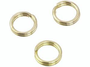 Spaltringe gold