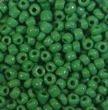 Rocailles opak grün