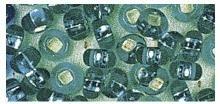 Rocailles silbereinzug jade