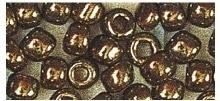 Rocailles silbereinzug kupfer