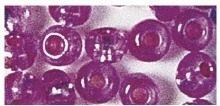 Rocailles silbereinzug pink
