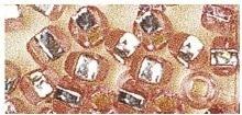 Rocailles silbereinzug rose