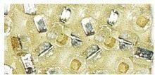 Rocailles silbereinzug silber