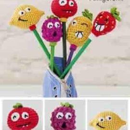 L Fruit Pen Toppers