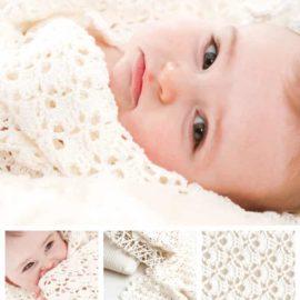 l  baby shawl german