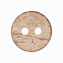 Kokosknopf rund