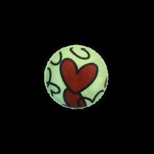 Knopf mit Herzerln