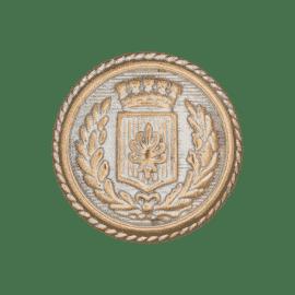 Metallknopf Wappen