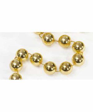 Perlenschnur gold