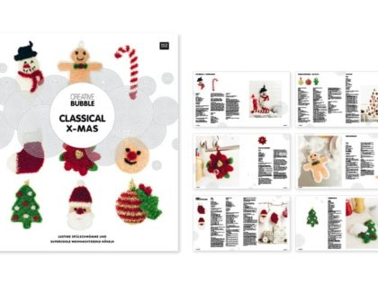 Neue weihnachtliche Vorlagen für Bubble Schwammgarn !!!!