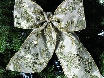 Wunderschöne Dekobänder für Weihnachten