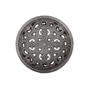 Metallknopf trachtig
