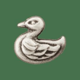 Metallknopf Ente