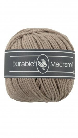 durable macrame  taupe