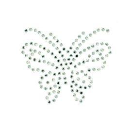 Mono Quick Buegelstrass Embleme Strassapplikationen Kristallglas Transparent