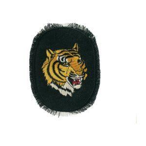 jeansflick tiger schwarz   cm