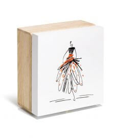 Holzbox Figur